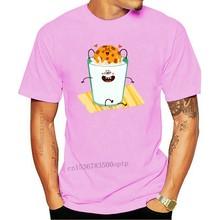 Men t-shirt Cookie And Milk In Love T Shirt tshirt Women t shirt
