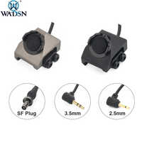 WADSN-Botón de Picaitnny Tacitcal de 20mm, interruptor remoto de presión para DBAL-A2 PEQ15, láser rojo y verde, pistola de Airsoft, linterna de arma