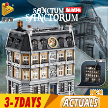 613001 MOC-30628 The Doctor Strange Sanctum Sanctorum Building Blocks Bricks DIY