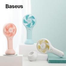Baseus мини USB вентилятор портативный вентилятор перезаряжаемый встроенный аккумулятор 1800 мАч Удобный вентилятор воздушного охлаждения для наружного дома