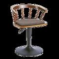עץ מלא כיסא בר שרפרף גבוהה רוטרי בר כיסא אופנה פשוט וינדזור בית כיסא להרים כיסא מוצק עץ משענת מעלית כיסא