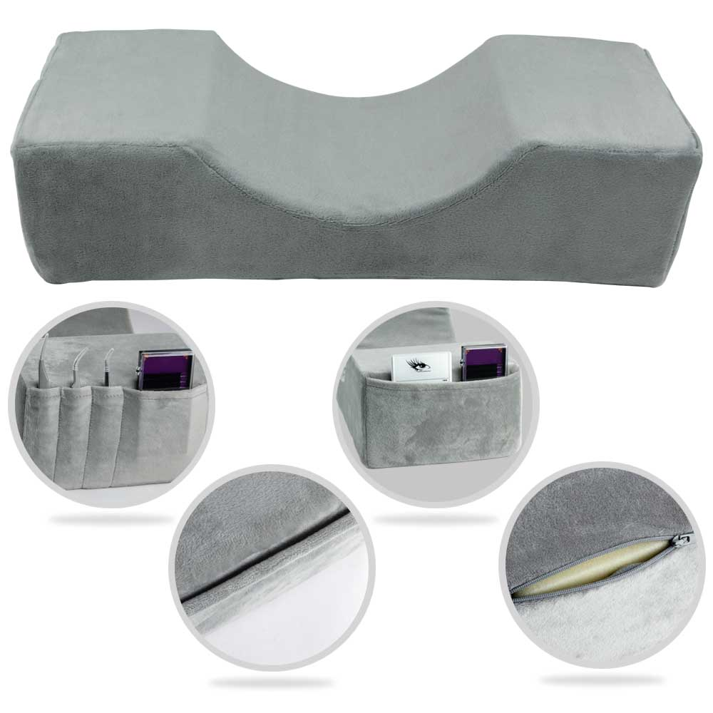 Eyelash Pillow Memory Foam Lash Pillow Neck Support Eyelash Extension Pillow Grafting Eyelashes Beauty Professional Makeup Tools