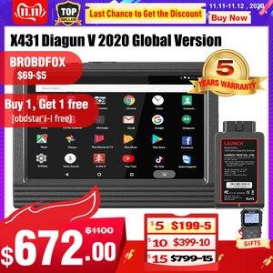 Image 1 - Launch X431 V Wifi/Bluetooth volledig systeem Diagnostisch hulpmiddel x 431 v Pro mini ECU codering OBD2 scanner update online 2 jaar gratis
