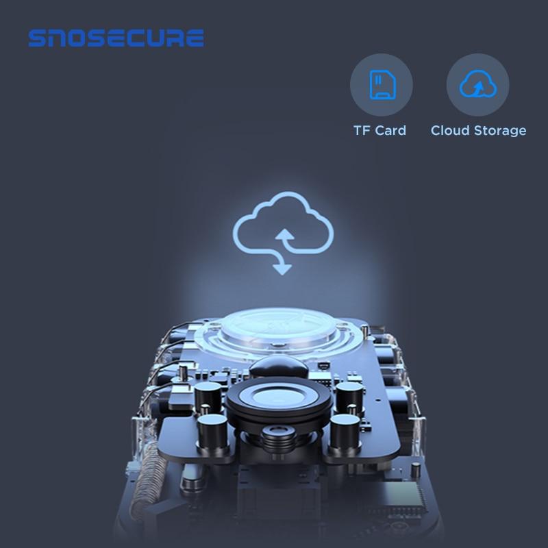 Купить с кэшбэком SNOSECURE 1080P WiFi Video Doorbell Smart IP Video Intercom Free Cloud Recording For Apartment IR Alarm Wireless Security Camera