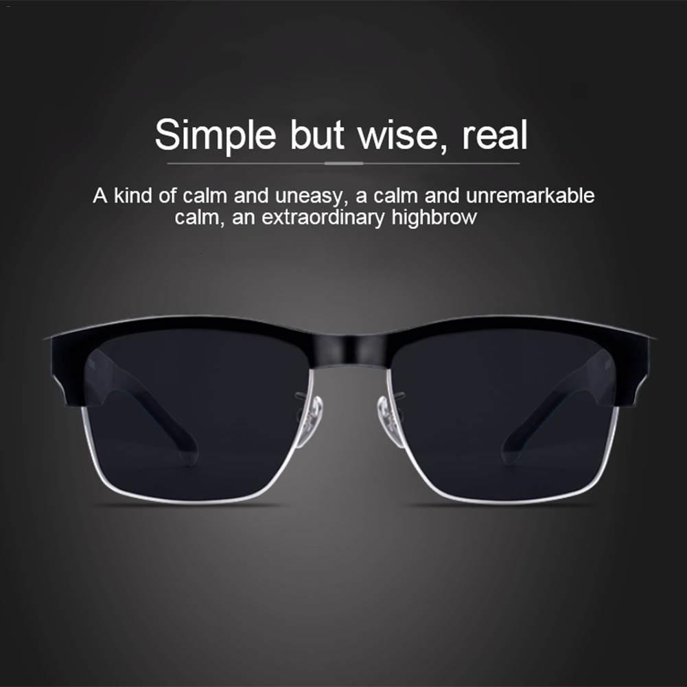 K2 Bluetooth 5.0 Sunglasses Outdoor Smart Bluetooth Glasses Wireless Sport Headset With Microphone Anti-Blue Sunglasses