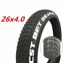 Pneu da bicicleta da praia do pneu da bicicleta do atv 26x4.0 pneus gordos da cidade da bicicleta da neve pneus grânulo do fio para a bicicleta elétrica gorda cst 24x4.0 20x4.0
