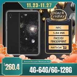 Оригинальный Hisense A5 Pro чернильный экран распознавание лица отпечаток пальца Android 10,0 5,84 дюймдве sim-карты для чтения телефона