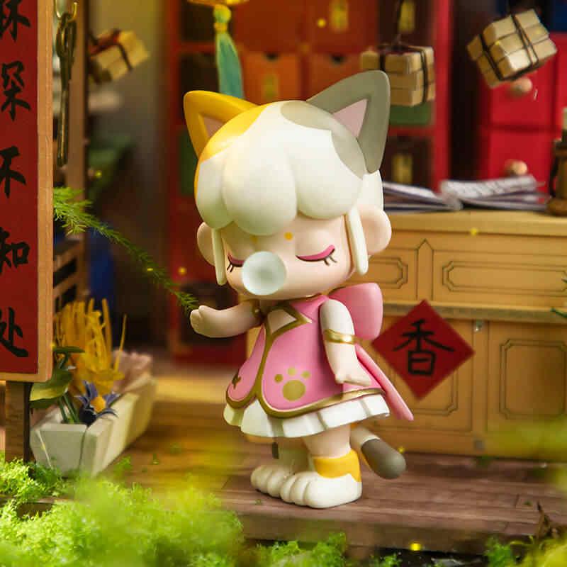 Robotime صندوق أعمى نانسي 2 جيل ألعاب شخصيات الحركة للأطفال أعياد الميلاد هدية ZBXX0
