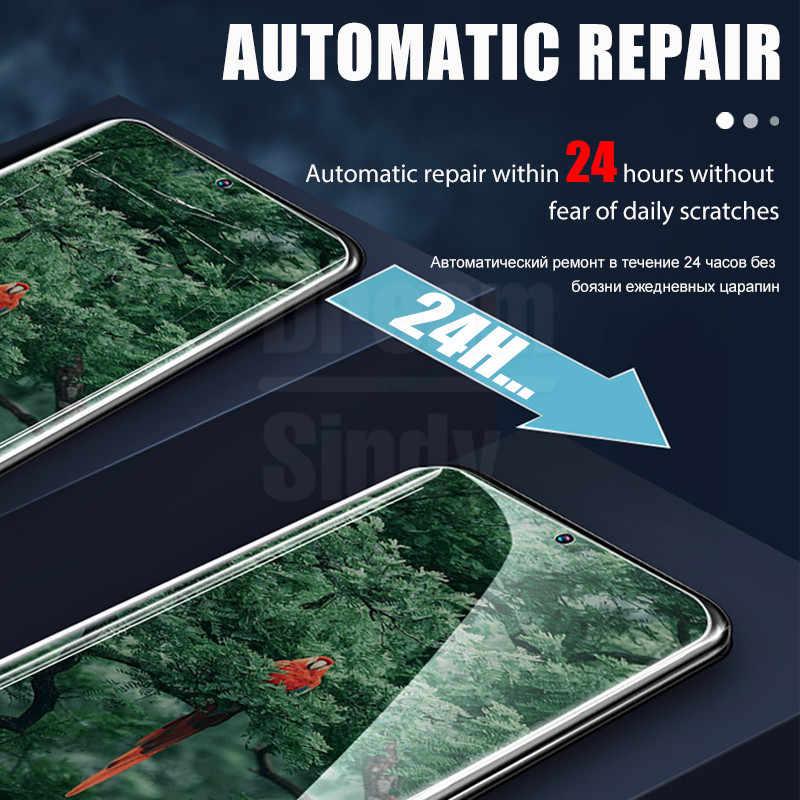 2Pcs 999D Layar Pelindung untuk Samsung Galaxy S10 S9 S8 S20 Plus Ultra Penutup Penuh Film Yang Lembut Samsung catatan 10 9 Film Bukan Kaca