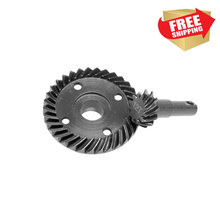 Radio control car Hot Racing steel helical spiral overdrive 33T/12T gear set for 1/10 trax TRX-4 option upgrade parts
