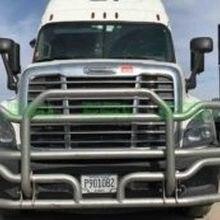 Полу грузовик 4x4 нержавеющая сталь олень решетка защита 304 нержавеющая стальная решетка ограждение переднего бампера бык бар