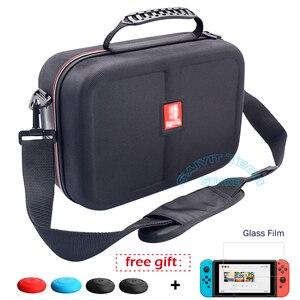Image 1 - Nintendoswitch ใหญ่เก็บกระเป๋า Nintend สวิทช์อุปกรณ์เสริม Travel และฝาครอบฟิล์มสำหรับเกม Nintendo Switch