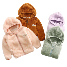 bibicola children spring autumn winter warm thicken pants baby boys girls thicken velvet trousers kids casual cotton clothes Autumn Winter New Jackets for Boys and Girls Children Coats Baby Kids Fashion Thicken Warm Outwear Clothes Solid Color 1-10T