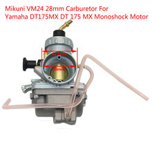 Carburateur Mikuni carburateur VM24 28mm pour 150cc 160cc 200cc 250cc moteur CRF KLX TTR Pit Dirt Bike ATV carburateur à glissière ronde(China)