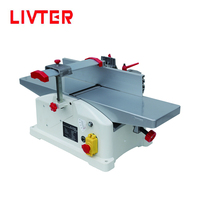 LIVTER 6 inch mini portable bench top woodworking surface planer machine / wood jointer planer thicknesser