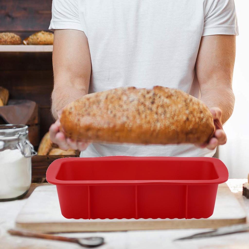 houseake moules rectangulaires a gateaux en silicone antiadhesifs plateau a pain plateau a pain pour pain grille accessoires de cuisine 2020