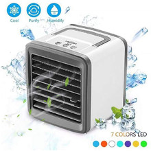 Air Conditioner Fan Air Cooler Airconditioner For home Room Office Deaktop Portable Air Conditioning Air Cooling Usb Mini Fan(China)