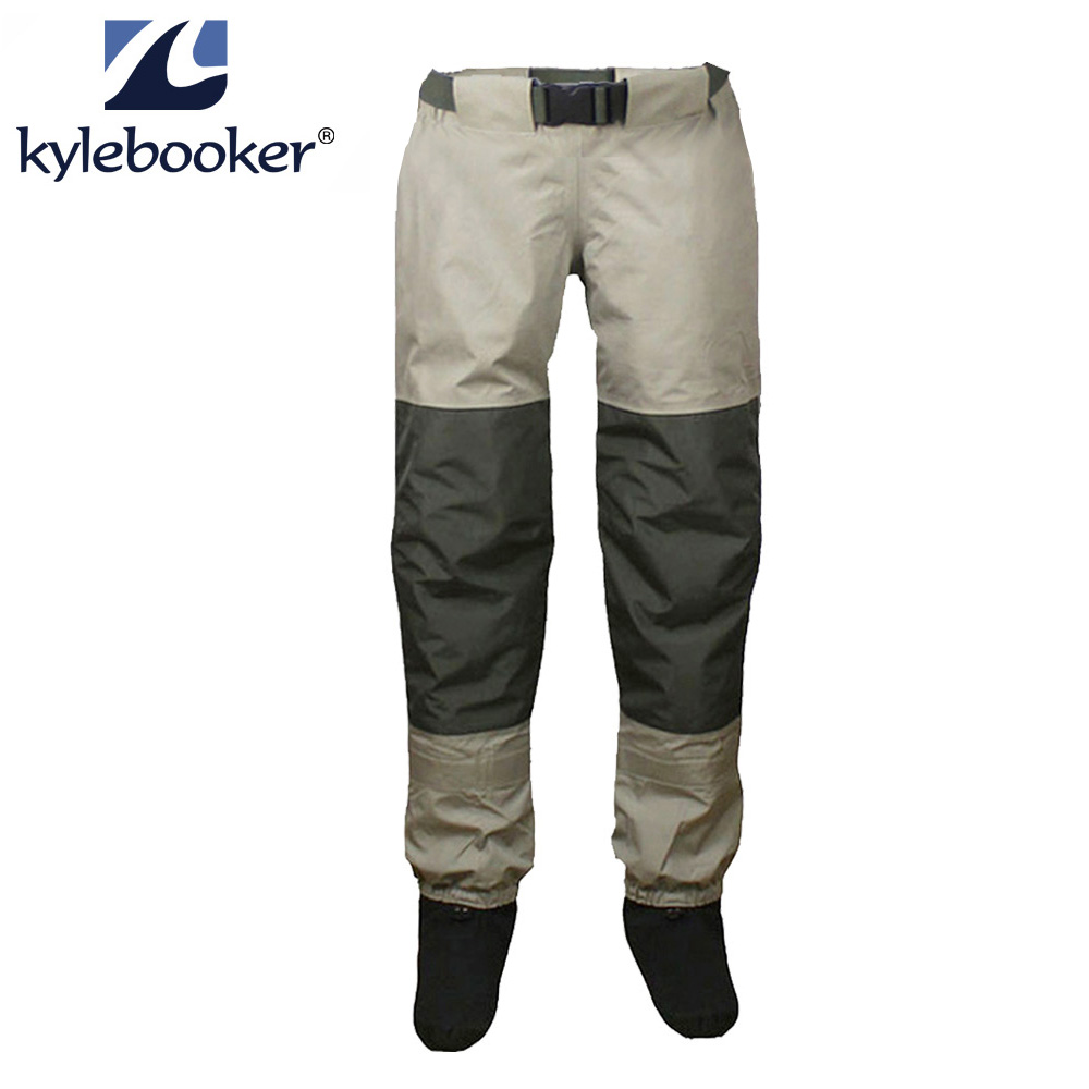 Fly Fishing Waders Breathable Stockingfoot Waist High Pant Waders