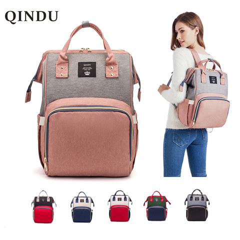 Diaper Bag Backpack Multifunction Travel Back Pack Maternity Baby Nappy Changing Bags Large Capacity Waterproof and Stylish Pakistan