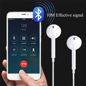 Image 2 - Écouteurs de sport universels 3.5mm dans loreille Bluetooth écouteurs écouteurs stéréo casque avec micro pour Samsung pour huawei pour Xiaomi