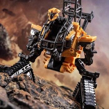 цена на AOYI SS Transformation Devastator Overload Hook Hightower Action FIgure Robot In Stock