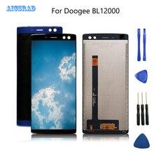オリジナルdoogee BL12000 lcdディスプレイタッチスクリーンditigizerアセンブリdoogee BL12000プロ液晶電話アクセサリー + ツール