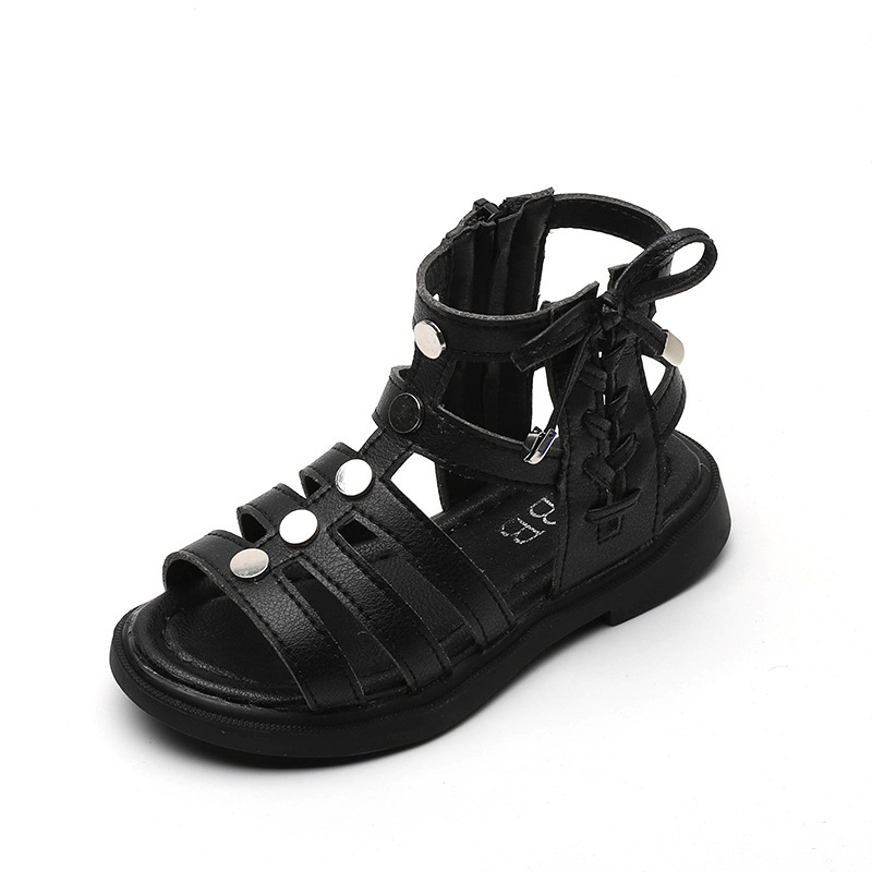 Fashion New Gladiator Big Kids 2020 Girl Sandal Princess Bow Girl Shoes Summer Sandals For Children 3 4 5 6 7 8 9 10 11 12 Years