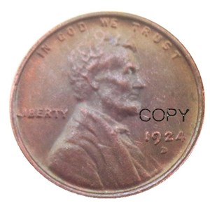 US 1918 19191920 1921 1922 различные мята пшеницы Пенни центр медная копия монеты
