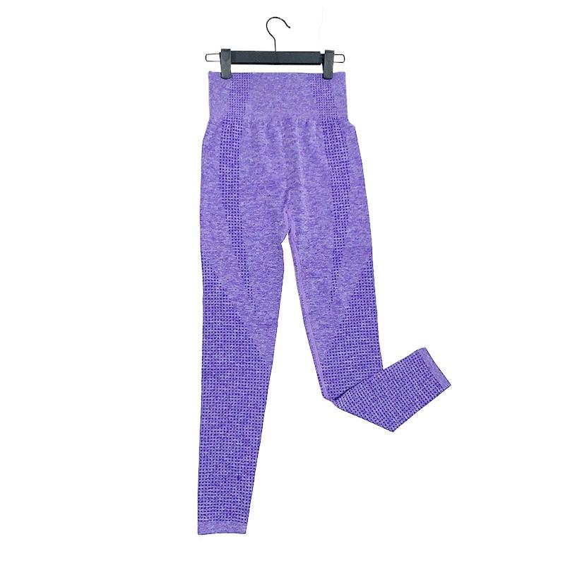 Kaminsky 14 Colors High Waist Seamless Leggings For Women Solid Push Up Leggins Athletic Sweat Pants Sportswear Fitness Leggings 16
