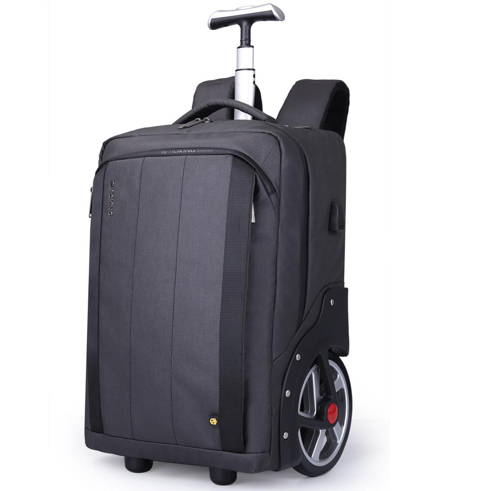 High Capacity Travel Bags Men Business Rolling Luggage 20 Inch Shoulder Suitcase Wheels Cabin Trolley Laptop Bag