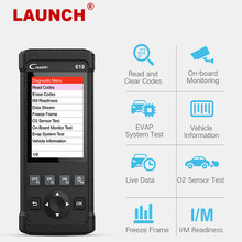 Launch CR619 OBD2 Scanner Engine Abs Srs ODB2 Scan Tool Meertalige Launch Obdii Code Reader Car Diagnostic Tool gratis Update(China)