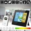 Thermomètre hygromètre numérique LCD sans fil, capteur, prévisions météorologiques pour l'intérieur et l'extérieur, Station météo, horloge, réveil