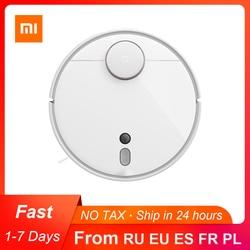 Робот-пылесос Xiaomi Mijia 1S 2, устройство для автоматической уборки дома, циклонный фильтр, стерилизация, Wi-Fi, мобильное приложение, планирование ...