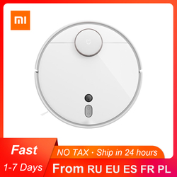 2019 XIAOMI MIJIA Mi Robot Vacuum Cleaner 1S 2 for Home Automatic Sweep Dust Sterilize cyclone Suction WIFI APP Smart Planned RC