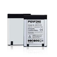 Bateria perfina 4100mah para lg v20  2 peças  bateria de BL-44E1F mah para v20  lg h910  stylo 3 ls777  stylus 3 LG-M400Y pilhas de substituição