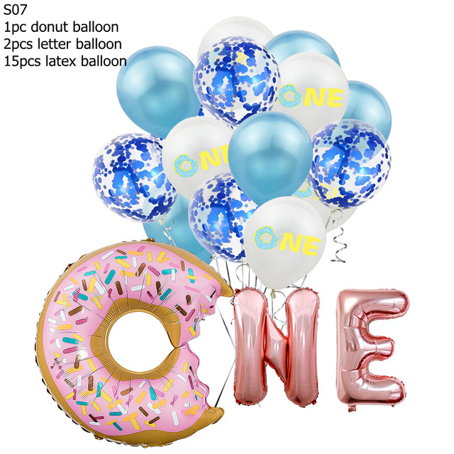 16Inch-Birthday-Party-Balloons-Rose-Gold-Two-Sweet-Donut-2-Years-Old-Aluminum-Foil-Balloons-For.jpg_640x640 (1)