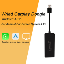 Carlinkit USB Smart Link Wired Carplay Dongle/Android Auto Only for Android car Head Unit (Android System) Airplay/Mirror/IOS13