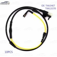 10 pces sensor de desgaste da almofada de freio t4a3467 t4a13370 t4a12867 para jaguar F-PACE x761 2.0 3.0 d 2015-2020 indicador de desgaste elétrico