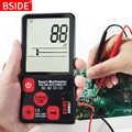 Мини цифровой мультиметр BSIDE ADMS9 S7 тест er Вольтметр Сопротивление NCV непрерывность тест с