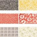 5 шт. керамическая подглазурная цветная Цветочная бумага переводная бумага керамическая Наклейка 54x37 см высокотемпературные керамические ...