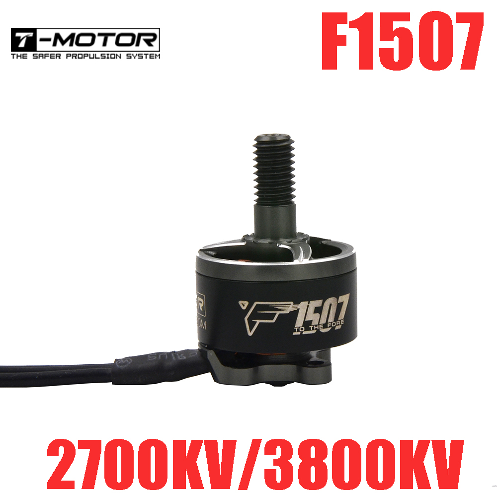 T-<font><b>Motor</b></font> F1507 2700KV/<font><b>3800KV</b></font> Brushless <font><b>Motor</b></font> for RC Drone FPV Racing image