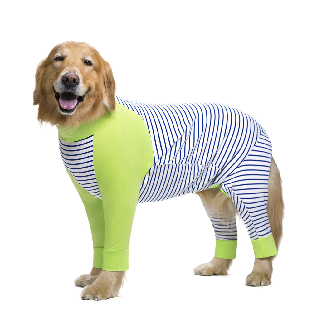 Striped Large dog clothes (7)