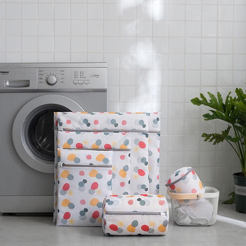 Washing Bag Laundry Bag Washing Machine Mesh Bag Lazy Thick Bra Underwear Laundry Bag With Zipper