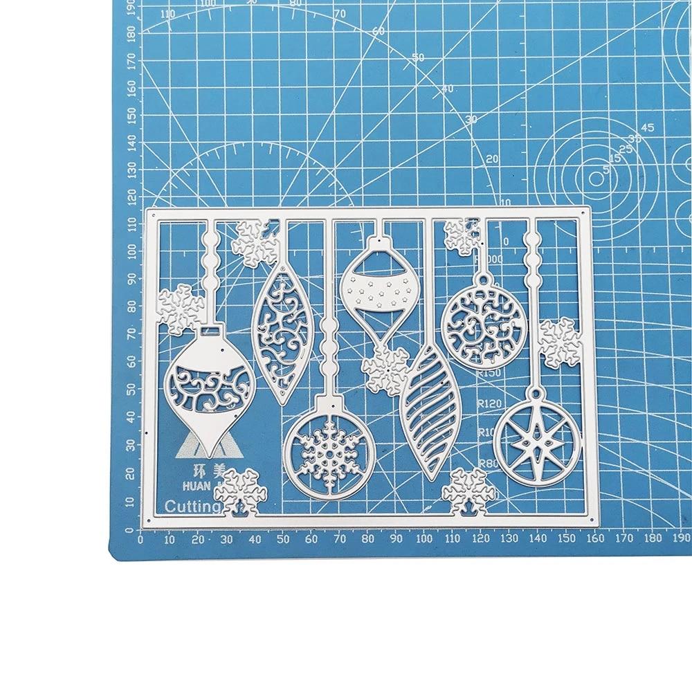 Christmas ornaments Metal Cutting Dies For DIY Scrapbooking Card Paper Album J/&S