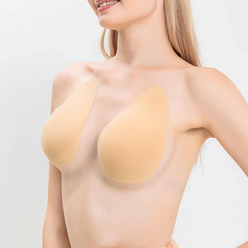 Invisible Push Up Breast Boob Lift Tape Nipple Cover Shape Bra Pasties CA 2h