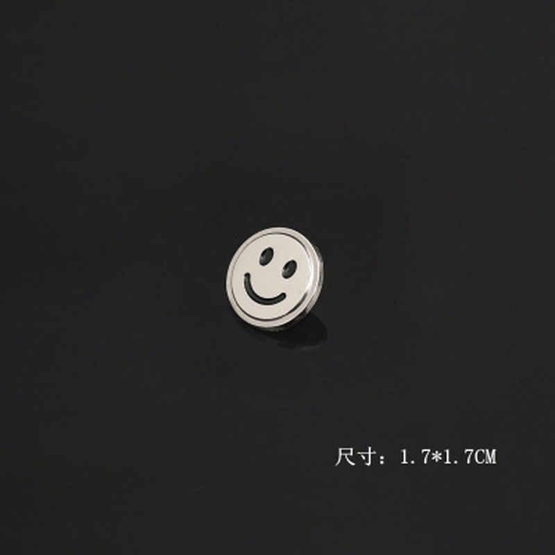 2019 Nuovo Piano di Foglie Naturali Sorriso Piccola Spilla Spille Unisex Maple Leaf Risvolto Spilli Vestito Colletto Della Camicia Accessori di Gioielli
