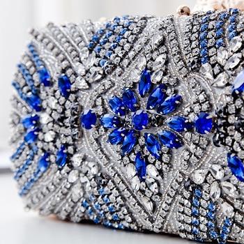 Luxury Diamond Embellished design Clutch 5