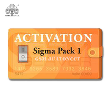 Sigma Pack 1 Activation for sigma box or sigma key dongle кроссовки sigma sigma mp002xw1ip5b