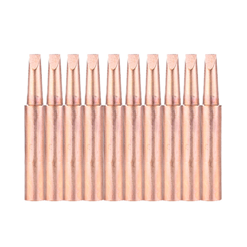 10pcs/lot Lead-Free Soldering Iron Tips Replacement 900m-T-3.2D Solder Iron Tips Head For BGA Soldering Station Welding Tool