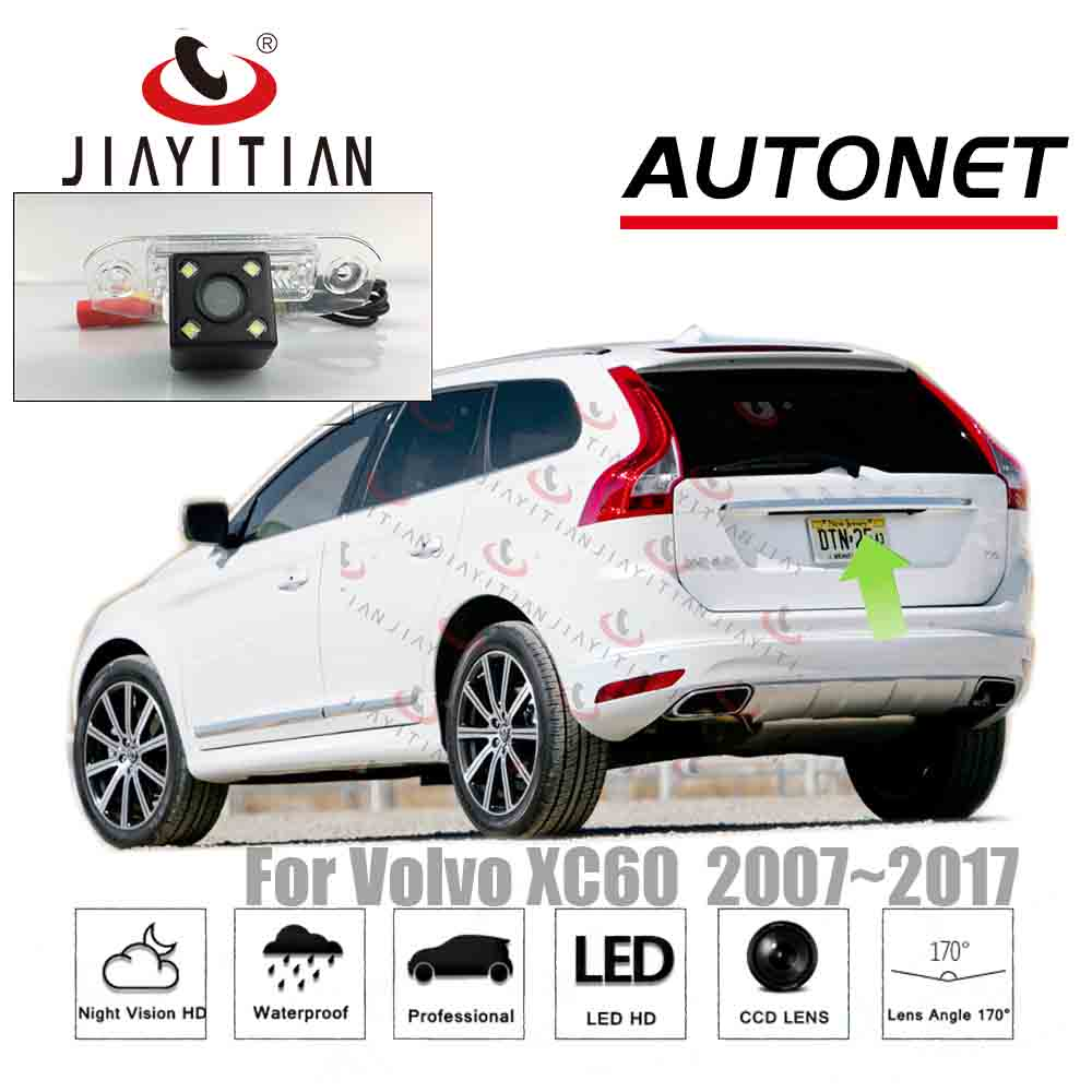 JiaYiTian Rear View Camera For Volvo XC60 Xc 60 2007~2017 Reverse Camera/CCD/Night Vision/license Plate Camera Backup Camera